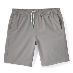 myles apparel fog gray everday short